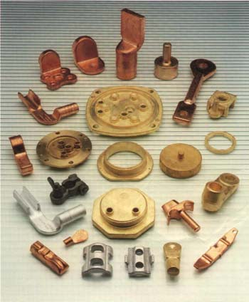 Brass Forged Components Stamped Components